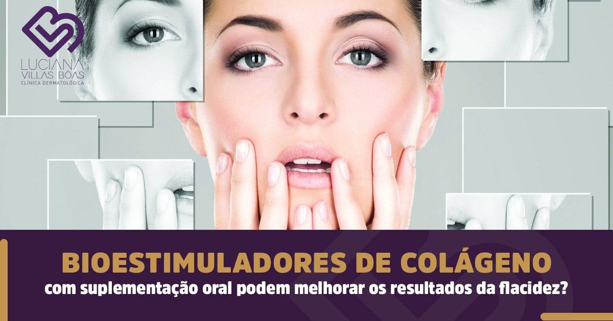 Bioestimuladores de colágeno com suplementação oral podem melhorar os resultados da flacidez?